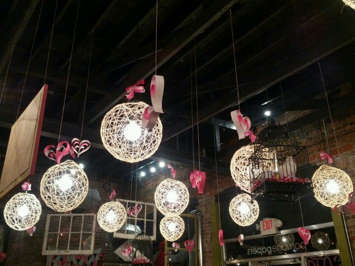 Pretty decor idea for our annual valentines dinner for Annual dinner decoration
