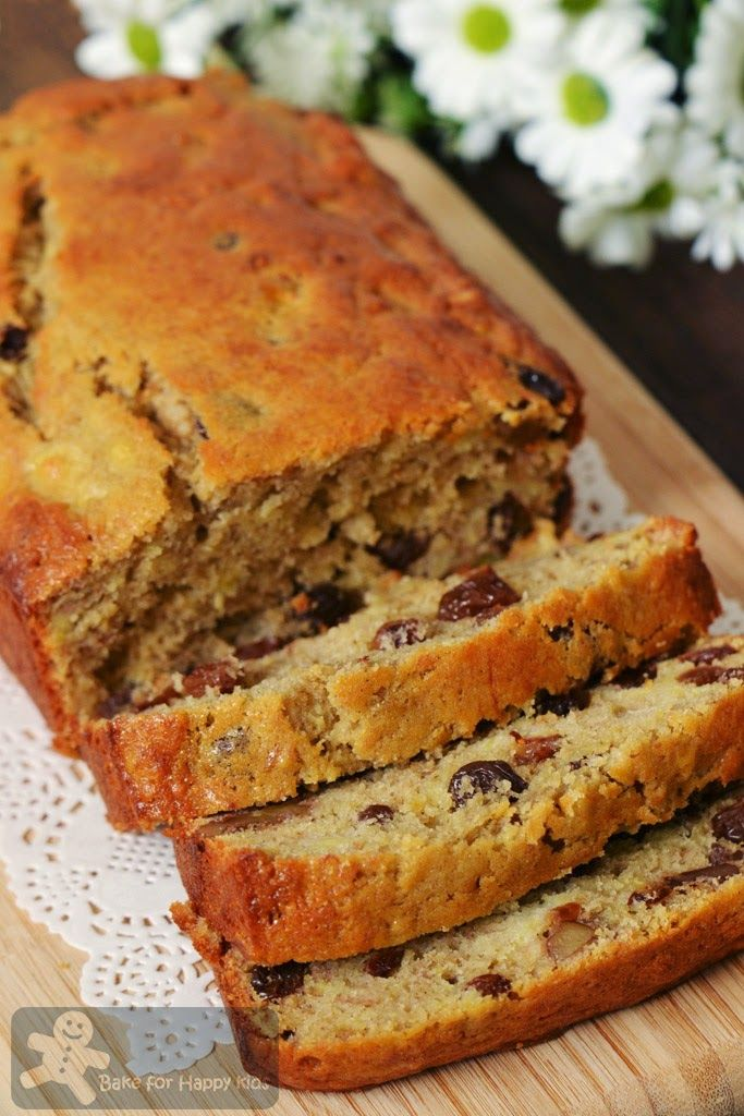 Bake for Happy Kids: A Little Boozy but Very Moist Banana Bread (Nigell...