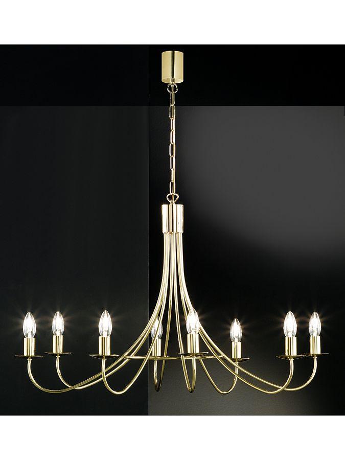 """Lampa wisząca """"Alena"""" w kolorze mosiądzu - 84 x 67 cm kampania: Honsel - lampy  869.00 zł** 1562.00 zł*-44%*"""