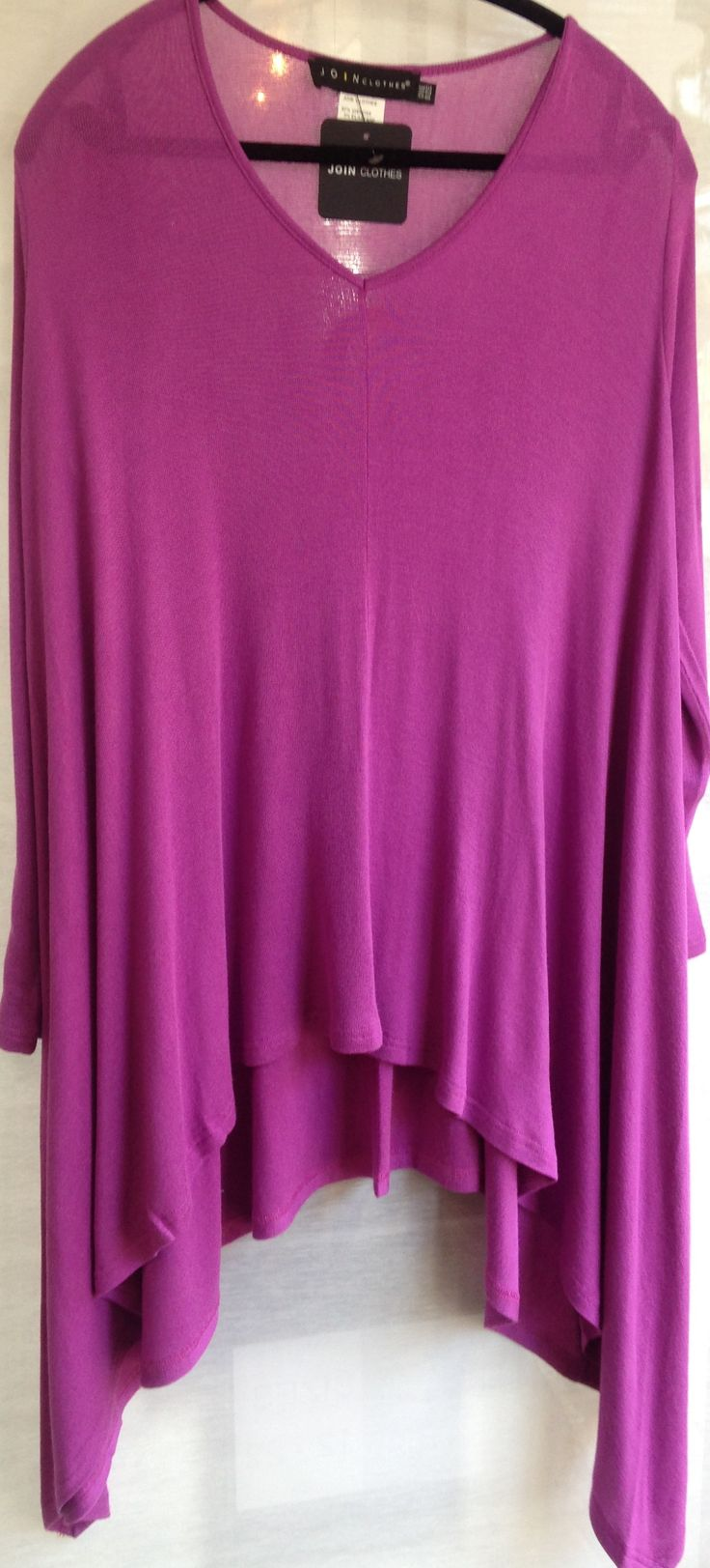 One size sweater from JOIN.  Many beautiful colours.