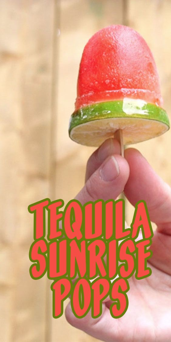 These popsicles are so much fun! Not only are they beautiful and delicious, but they have a boozy kick that will be a huge hit at your next party. Tequila Sunrise Pops are a fun summery frozen drink recipe to make when a regular cocktail just won't do.