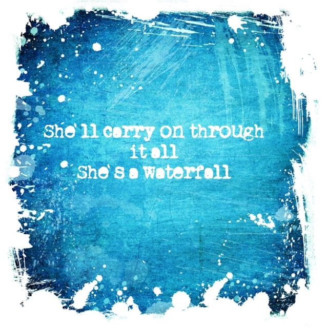 She'll carry on through it all -  Stone Roses