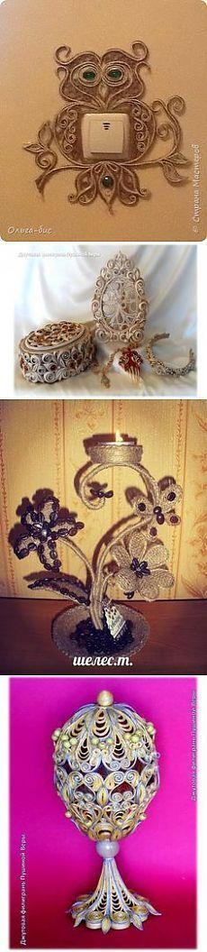 (2) Плетение из ниток (джутовая филигрань) в Pinterest | Снежинки, Узоры Из Бумажных Лент и Сплетение: