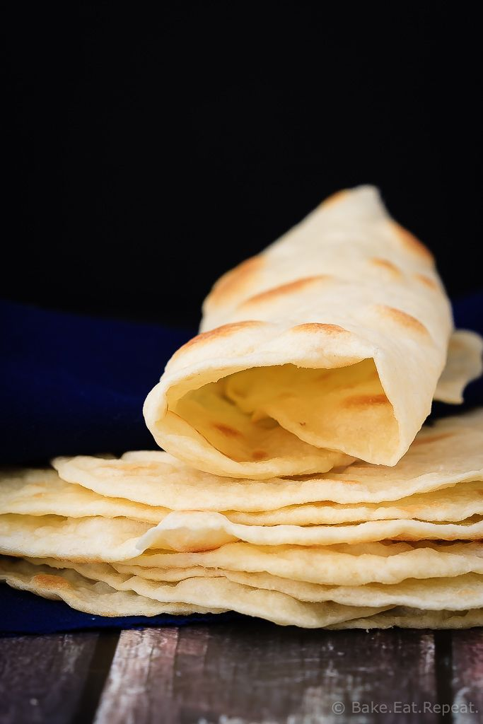 Homemade Tortillas - Easy to make, melt in your mouth homemade tortillas. These tortillas are so much better then the store-bought ones - and easier then you would think!