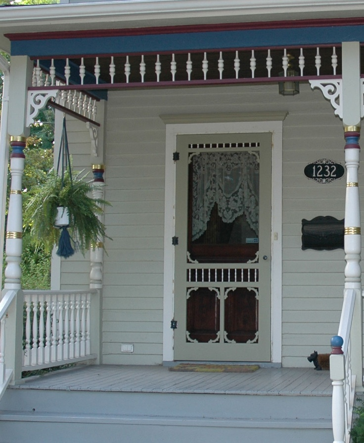 221 best screen storm doors images on pinterest storm - Interior storm windows for old houses ...