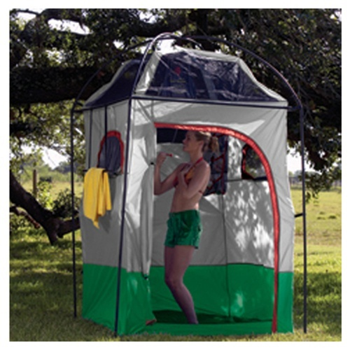Deluxe Camp Shower Shelter Combo Camping Ideas