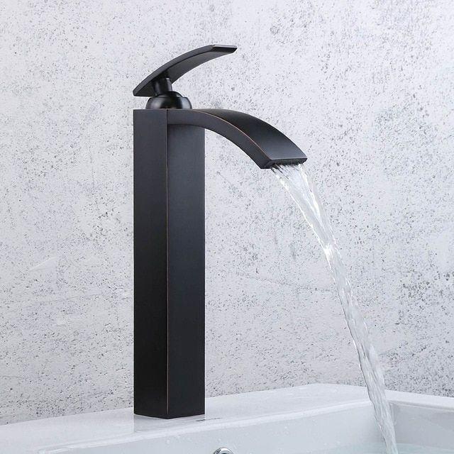 Ol Eingerieben Bronze Bad Armaturen Hohe Basin Armaturen Schwarz Mit Bildern Armaturen Bad Waschbecken Armatur Schwarz