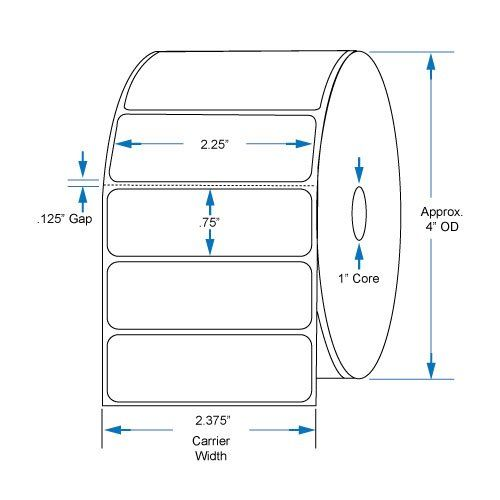 """Is the 800522-075 Compatible KENCO® Brand 2.25 inch x .75 inch with perf Direct Thermal Labels to fit Eltron or Zebra Printers. 1 in. Core, 1,780 Labels Per Roll, 12 Rolls Per Case  Truly worth the money in addition to all the """"best product deals EVER"""" hype? Are there improved product alte..."""