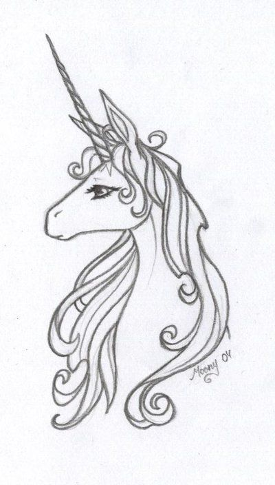 The Last Unicorn by *Naiefae on deviantART