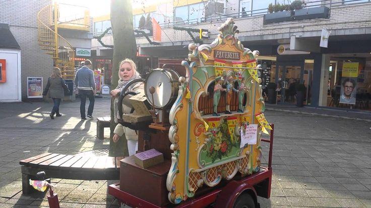 Sinterklaas sfeer met Draaiorgel