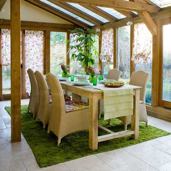 Nature-inspired conservatory