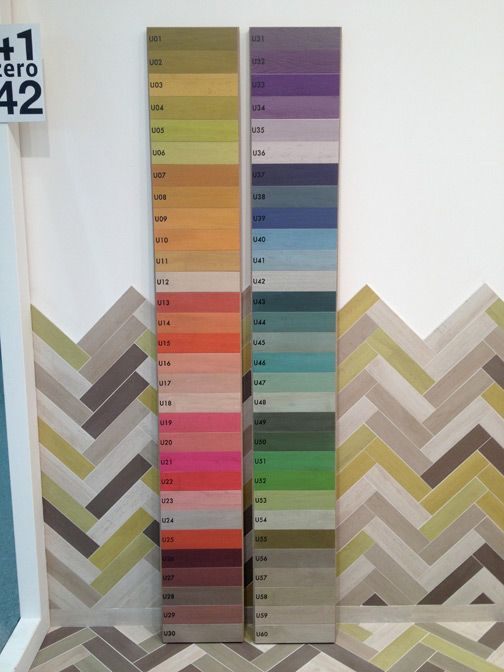 U Color A Spectrum Of Colorful Tile Planks From 41zero42 That Launched