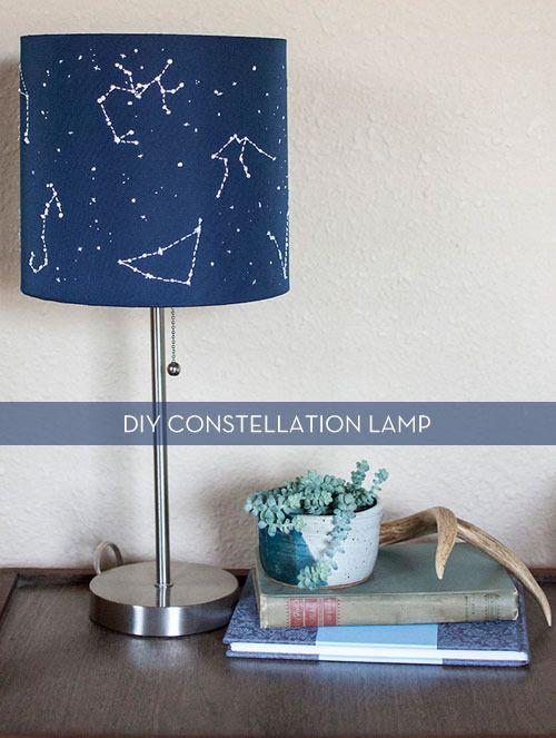 DIY Constellation Lamp.