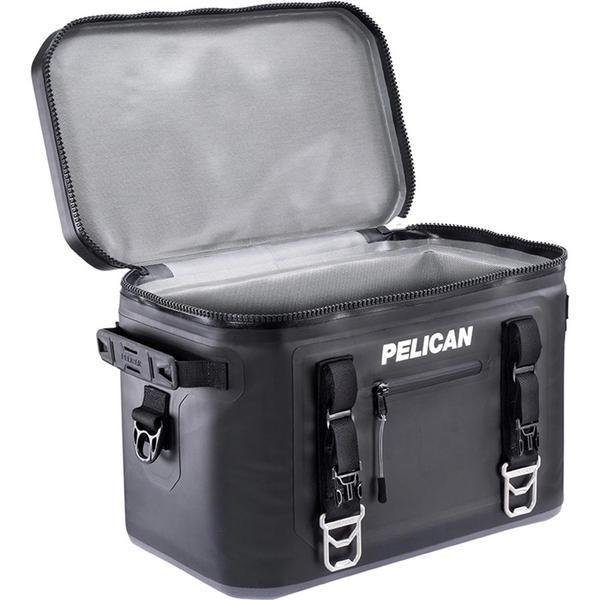 Pelican 24 Can Elite Soft Cooler Black Soft Cooler Soft Sided Coolers Pelican Elite Cooler