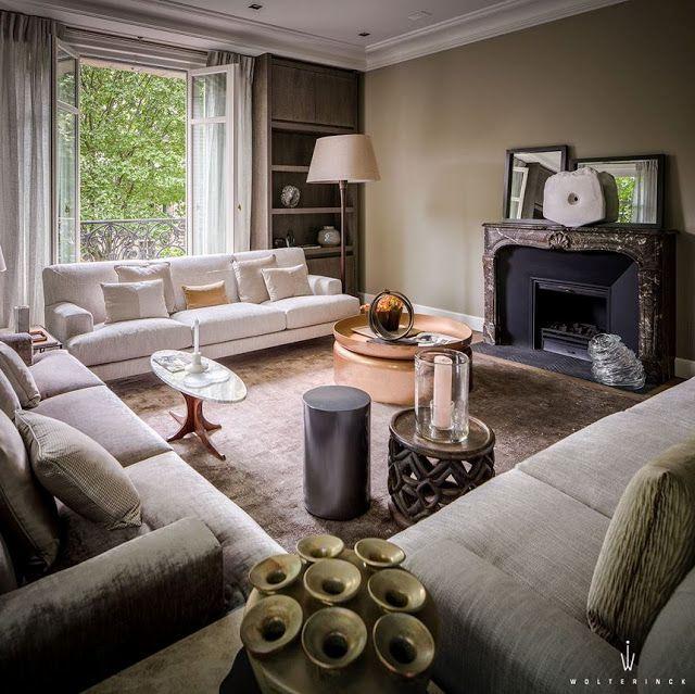 Meer dan 1000 idee n over luxe interieurontwerp op for Decorateur interieur paris luxe