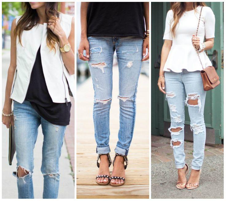 рваные джинсы и кеды - Поиск в Google