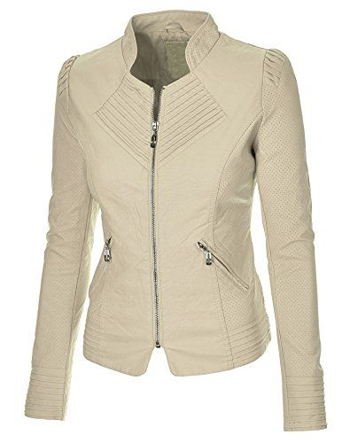 Made By Johnny Women's Flirty Faux Leather Biker Jacket Made By Johnny http://www.amazon.com/dp/B00LOSJ4N6/ref=cm_sw_r_pi_dp_fp8Bub1R6TRQV