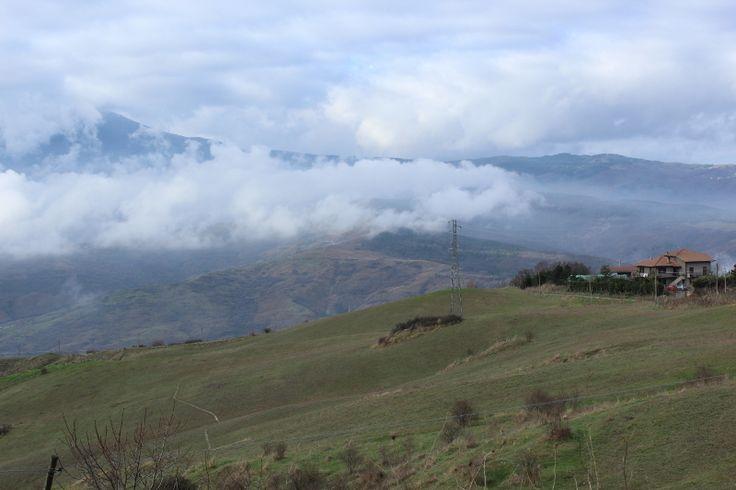 Uno scorcio di #terredisiena lungo la Francigena