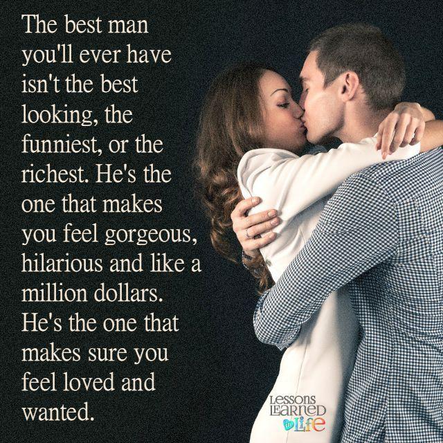 The best man.