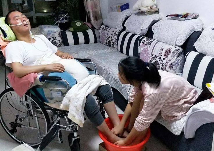 How her father's accident changed this 13-year-old girl's life, China News - AsiaOne