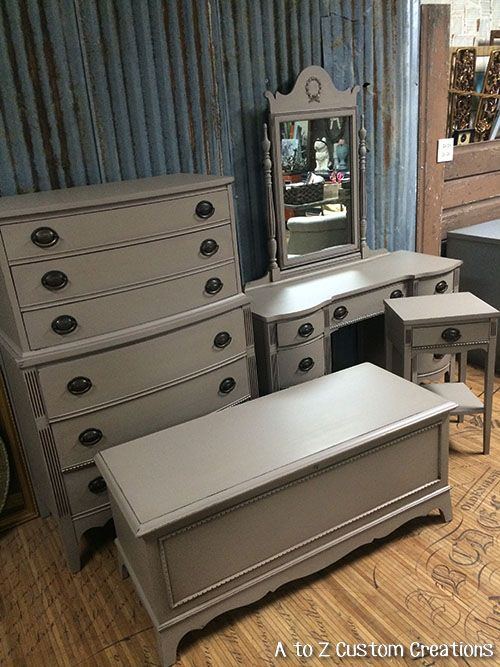 What Color To Paint Furniture best 25+ gray chalk paint ideas on pinterest | paris grey, annie