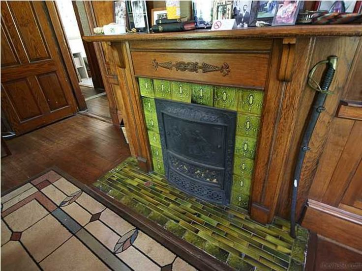 117 Best Mantels Inserts Tiles In Old Houses Images On