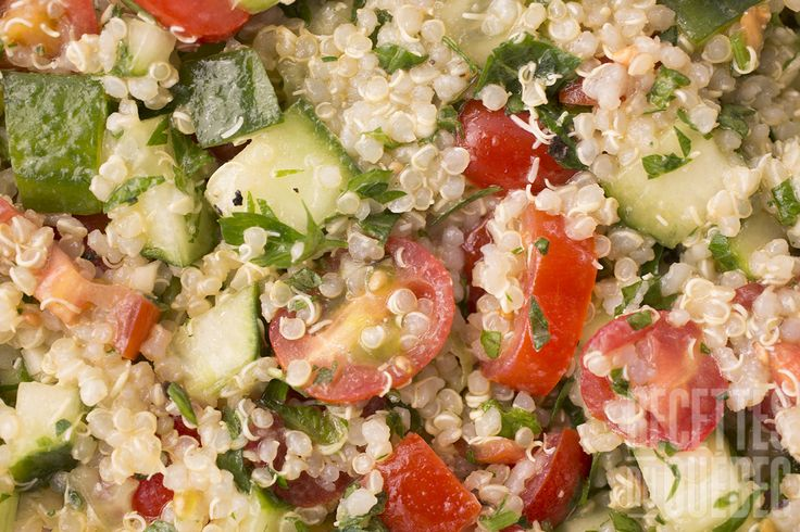 Salade de quinoa style taboulé