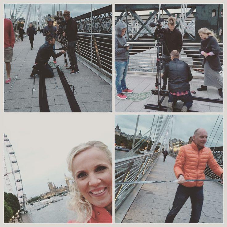 Photo shoot in London.
