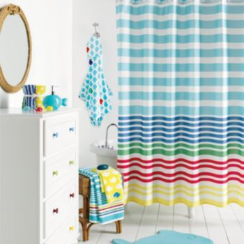 Bath accessories at kohls shop our entire selection of bath coordinates including this jumping beans splash around fabric shower curtain at kohls