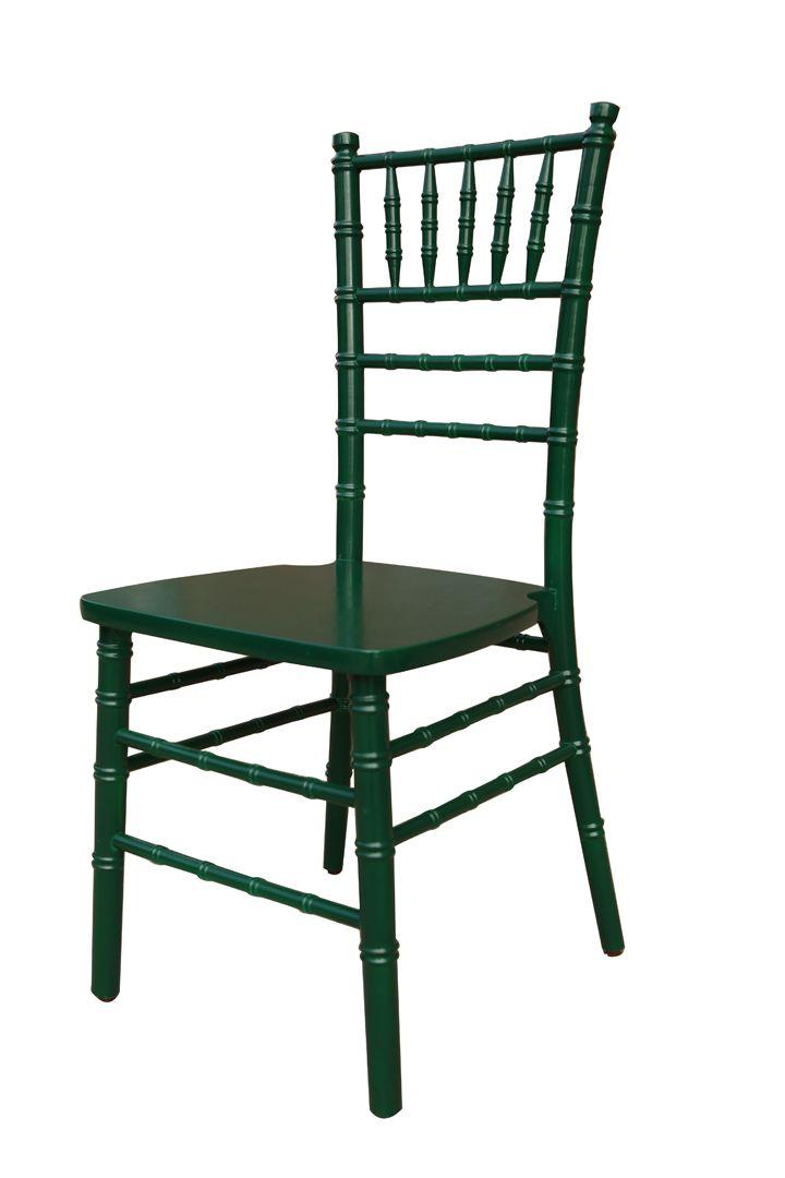 Custom British Green Chiavari Chair Frame By Vision Furniture.