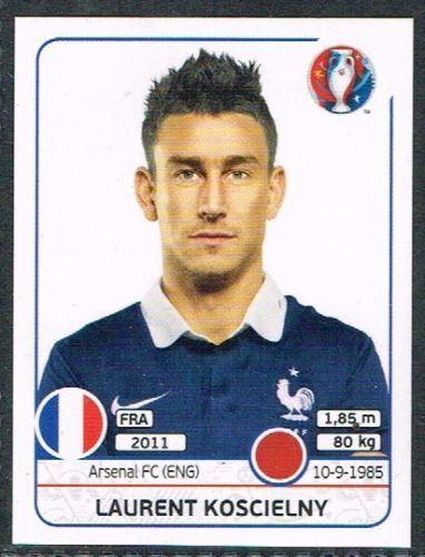 Laurent Koscielny France Nr 0021 #euro2016 #france #stickers #panini #defender…