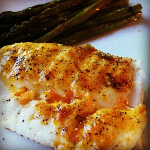 Grilled Halibut w/ BBQ Butter | Grilled Halibut, Halibut and Butter