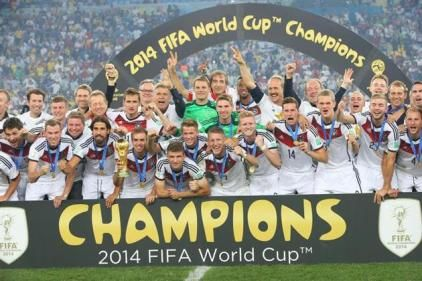 Germany win the FIFA World Cup 2014
