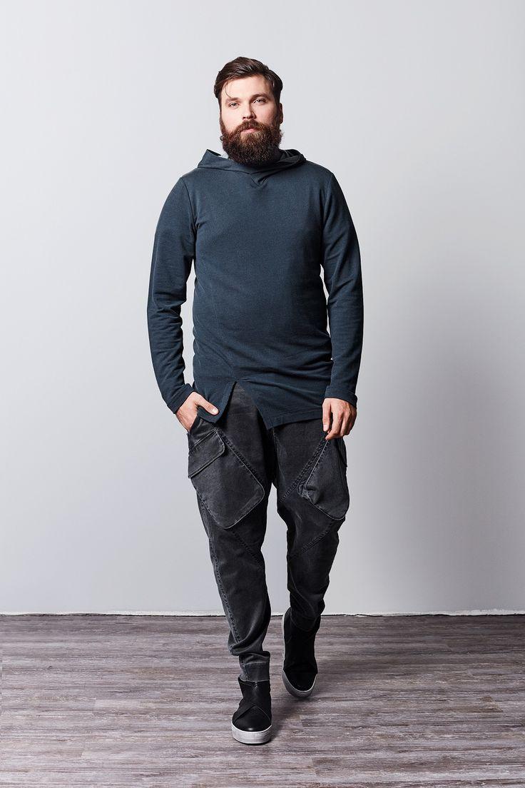 Outsize men's clothing online