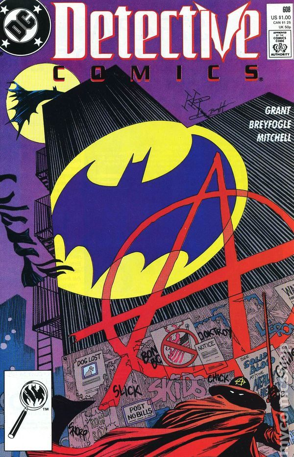 Detective Comics (1937 1st Series) 608  DC Comic Book modern era covers  Batman Dark Knight  Gotham New 52