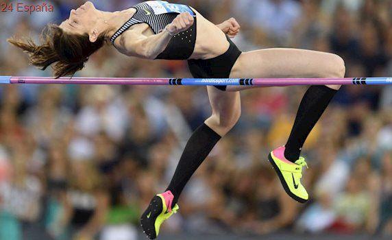 Ruth Beitia logra la mejor marca mundial del año con un salto de 1,95 metros