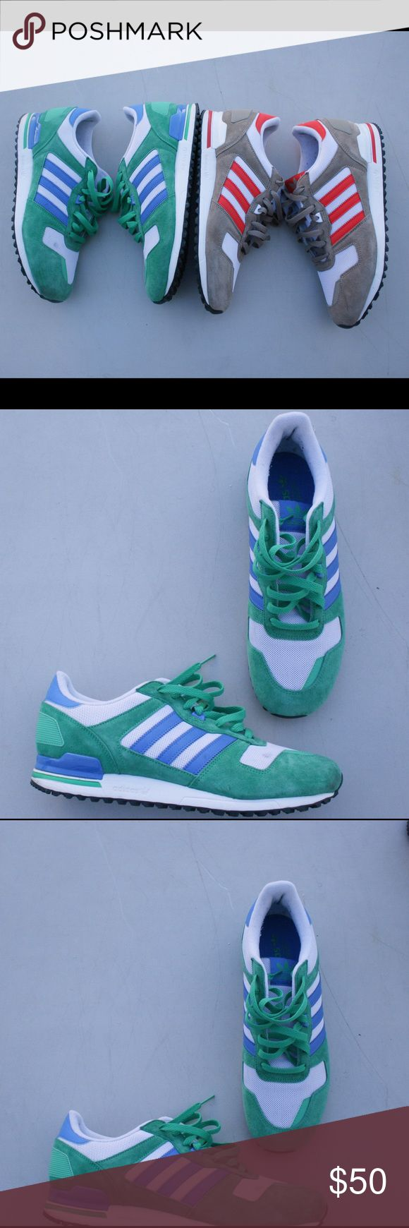 Adidas ZX 700 sneakers 100% Authentic 9/10 condition Adidas Shoes Sneakers