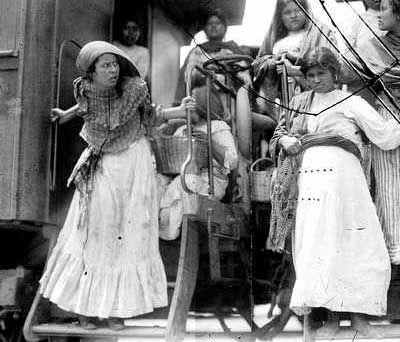 Las soldaderas de la revolucion mexicana.