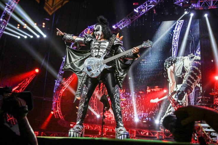 KISS performs in concert at Amway Center in Orlando, Fla. on Friday, August 16, 2013.  (Joshua C. Cruey/Orlando Sentinel)
