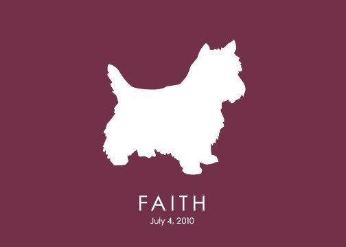 76 Best Yorkie Silhouette Images On Pinterest Yorkie