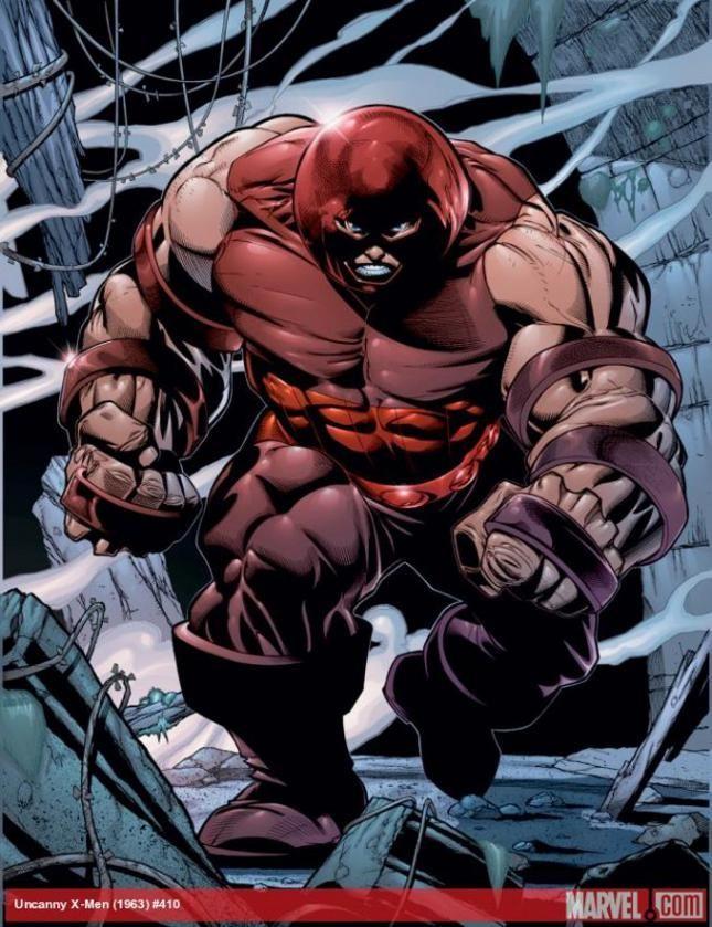 Group Of Juggernaut Comic Character Wallpaper