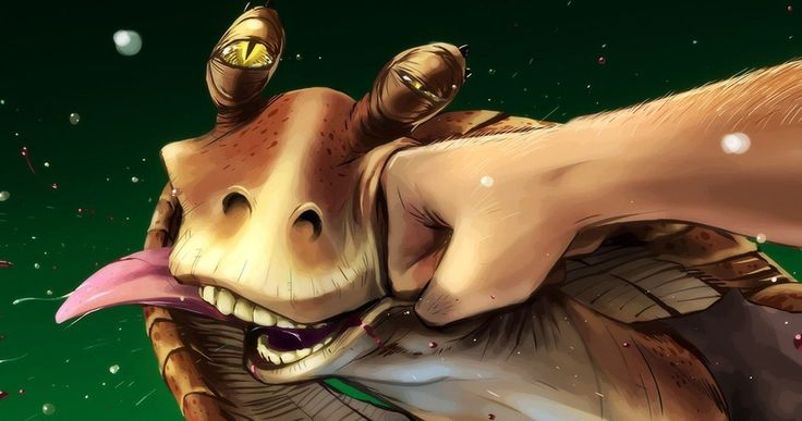 Jar Jar Binks Actor Wanted Character to Die, But George Lucas Refused -- Jar Jar actor Ahmed Best wanted George Lucas to brutally kill the character, but he's happy with the Gugun's fate in a recent Star Wars book. -- http://movieweb.com/star-wars-jar-jar-binks-death-ahmed-best-george-lucas/