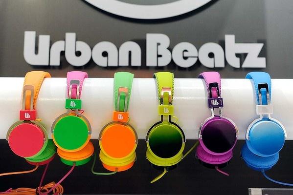 Ombre headphones by Urban Beatz.