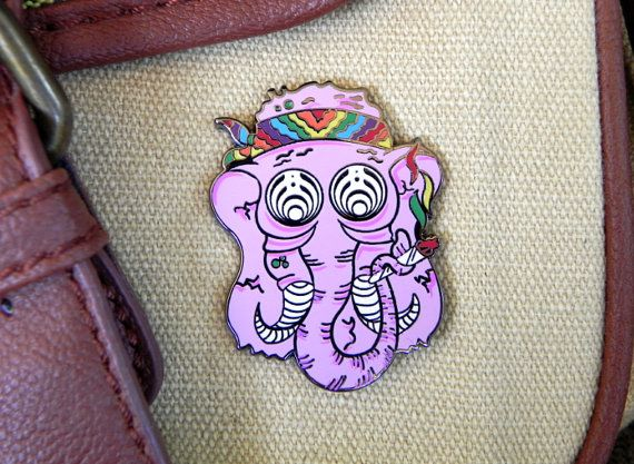 Bassnectar Hat Pin by ELISden on Etsy, $15.00