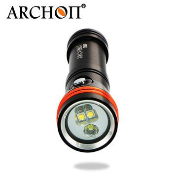 Only US$69.95, buy best ARCHON D15VP 1300LM Two-in-One Professional Diving Video&Spot LED Flashlight 100M sale online store at wholesale price.US/EU warehouse.