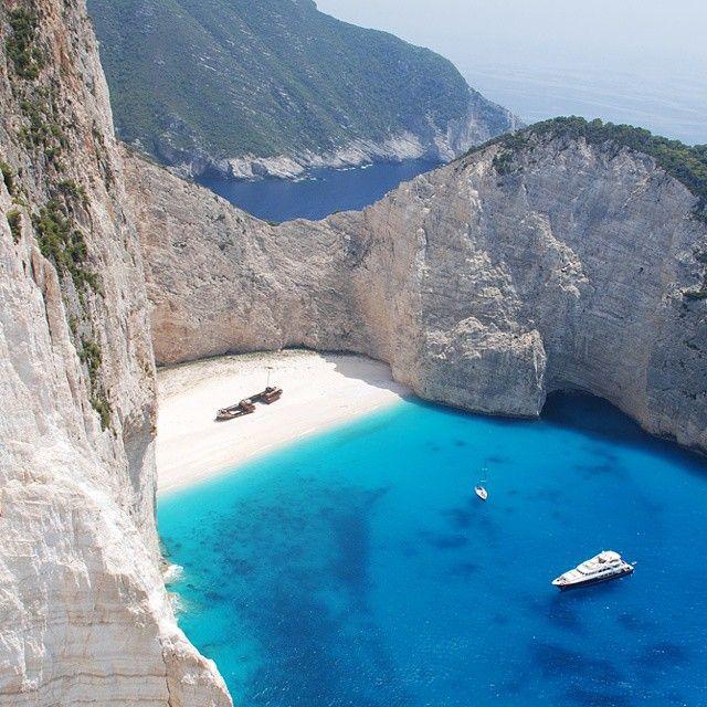 The famous #Shipwreck of #Zakynthos Photo credits: @blazejsoinski