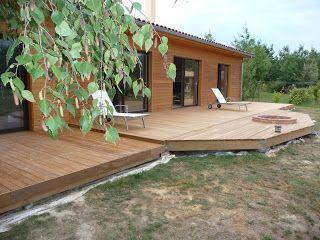 Construire sa terrasse en bois sur plots en béton - Blog destiné à expliquer les différentes étapes de la construction d'une terrasse en bois sur plots béton pour les particuliers qui veulent se lancer dans ce type de projet
