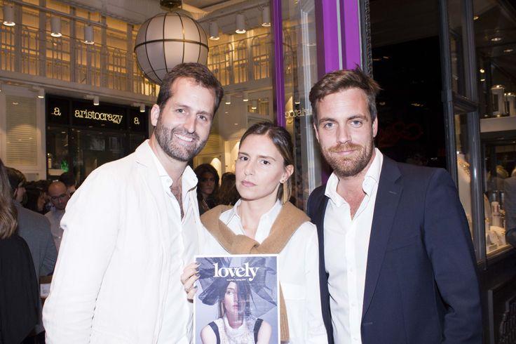 Antonio Mañas, Luciana Mazza y Chalo Boniffacino