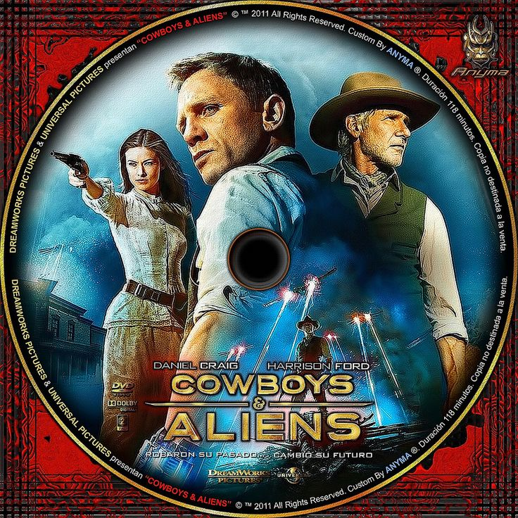 COWBOYS ALIENS V2 | por Anyma 2000