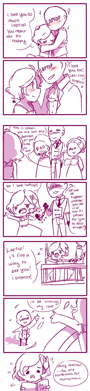 Anti-Social Media :: 18: Love Triangle | Tapastic Comics